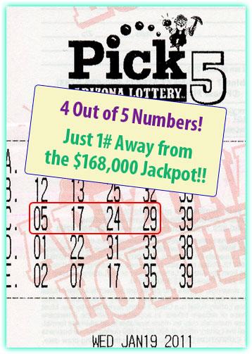 Pick 5 Winner!