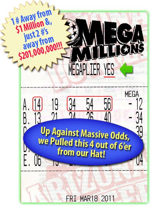 Mega Millions Winner!