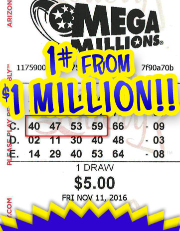 Another Powerball Winner in 2016