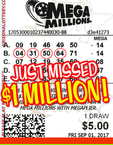 AND Yet Another Mega Millions Winner in 2017