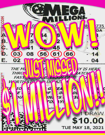 Another Mega Millions Winner in May 2021