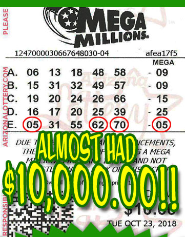 Another Mega Millions Winner in NOVEMBER 2018