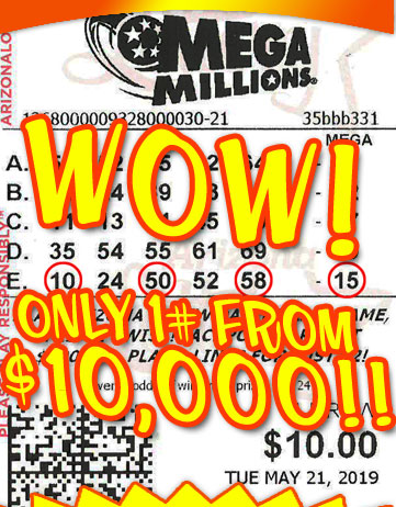 Another Mega Millions Winner in May 2019