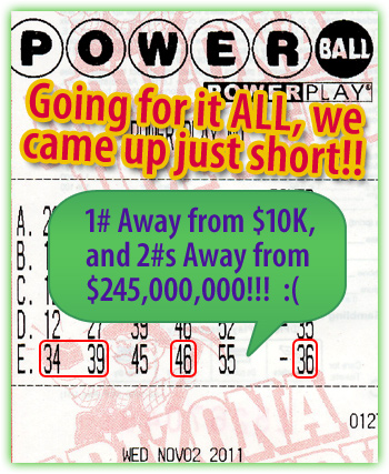Powerball Winner!