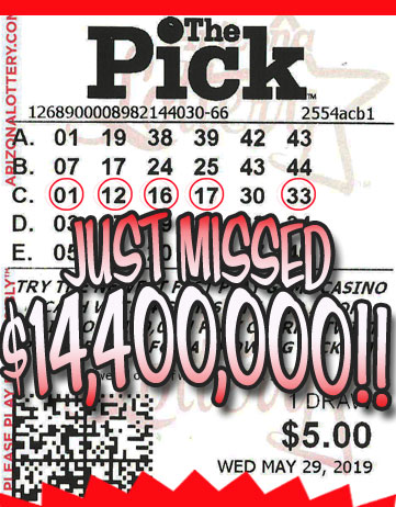Another The Pick Winner in May 2019
